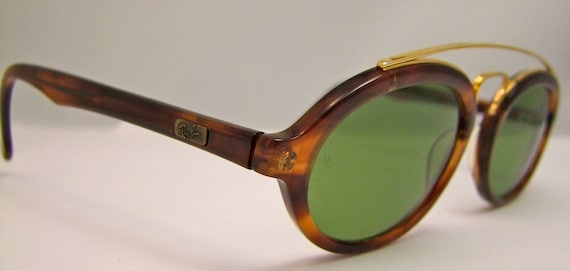 Rare RAY BAN GATSBY  Sunglasses 1980s series 4 Combo  Oval model w0941