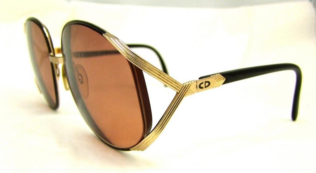 Vintage Dior Eyeglass Frames : Christian Dior Vintage Eyeglass Frames 1980s 90s Mint