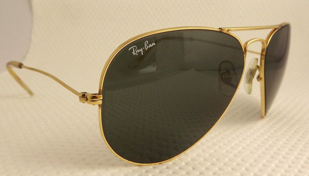 ray ban pilot sunglasses ofa0  antique ray ban aviator glasses