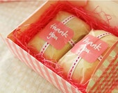 Pink Gingham Multi Functions Arched DIY BOX set of 4, U1054