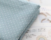A Yard of Petit Dots on Cotton Skyblue, U1438