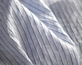 2 Yards of NAVY Stripe and Pure Sky Linen, U2416