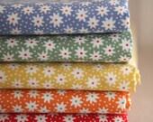 Petit Floral on Cotton  Fat quarters set of 5, U2452