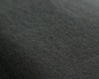A Yard of Classic Charcoal High Quality Linen Blended, U1220