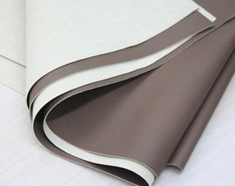 A Yard of Brown Thick Leather 140cm x 90cm , U1629