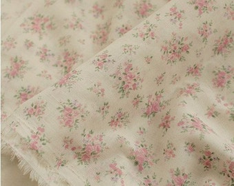 A Yard, FINE, Lovely Small Rose ASSA Cotton, U1403