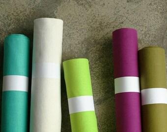 Sweet Candy Set,  Each 2 Yards Linen, Set of 5, U1909