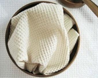 Chic Natural Waffle Cotton, U1222