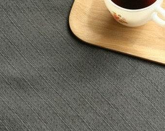 Monochrome Dark Gray Cotton 143cm Wide A Yard, U1996