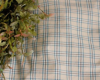 Sale, Gray, Sky and Black Gingham Cotton A Yard, U2198