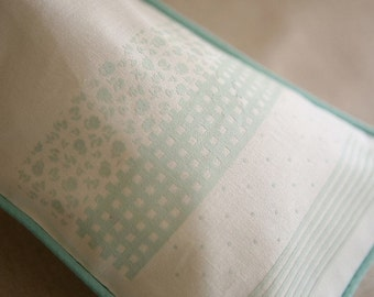 4 Styles DOTs, CHECKs, STRIPE, and FLORAL in a Sheet, Fabric Iron Sticker Mint, U2404
