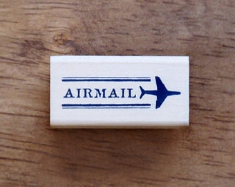 Airmail Stamp with mini Plain, U2529