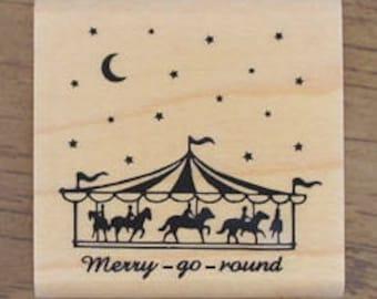 Merry go round stamp, U2753