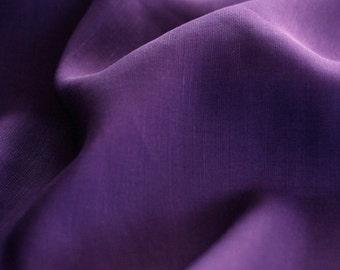 Real Violet Linen Rayon Blended, U2820