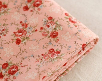 Candy Floral on Pink Cotton, U2883