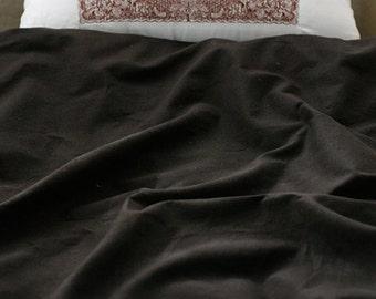 Dark Choco Linen Blended, U2893