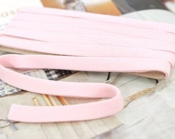 Thin Knit Double fold  Bias, Pink, U3050