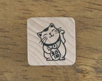 "Fortune Cat, Small Stamp ""Manekineco"", U3245"