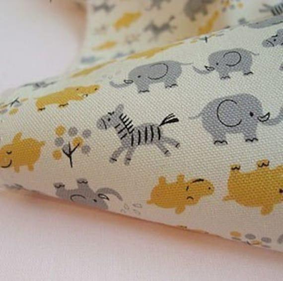 Lovely Animal Yellow Oxford, U1285