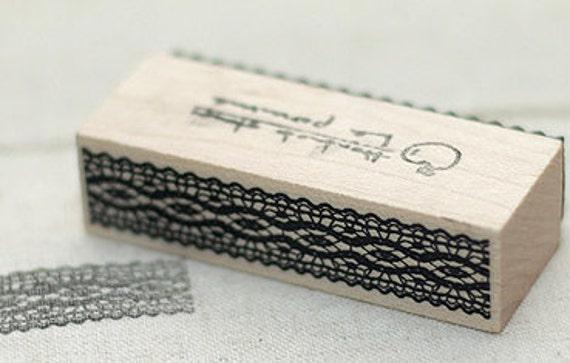 Torsion Lace II Stamp, U2943