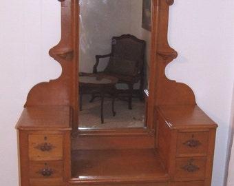 Antique Vanity Dresser Cottage Renaissance Furniture by Shabby Home Furniture at Etsy