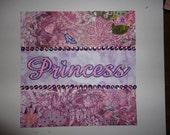 Princess 8 x 8 album title page