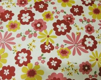 Summer floral -Half Yard (146 cm X 45 cm )