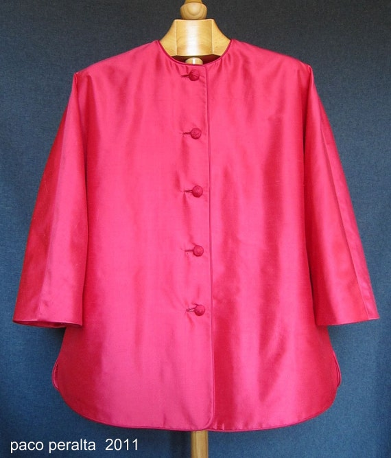 """Chinese-style """"Coolie"""" jacket pattern"""
