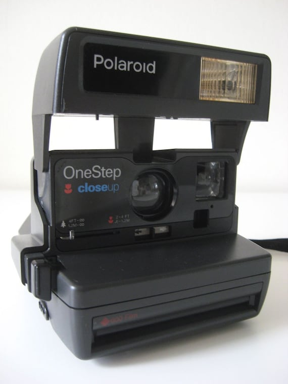 Vintage Polaroid One Step Close Up