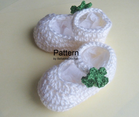 Free Crochet Patterns Baby Mary Jane Shoes : Free Crochet Mary Jane Baby Shoe Pattern