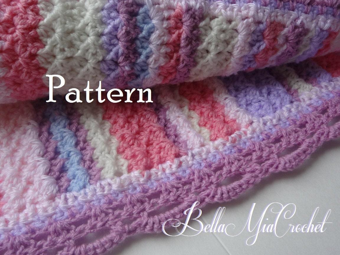 Crochet Baby Blanket Pattern Duchess Lace