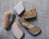 5 genuine beach stones from the Ionian Sea