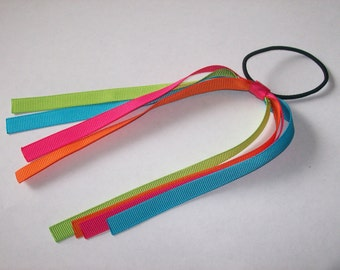 Bright Rainbow Pony Streamer