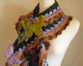 30% OFF Crocheted Scarf No 33