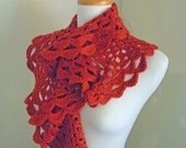 30% OFF Crocheted Scarf No 13