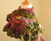 30% OFF Crocheted Scarf No 40