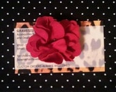 Pretty and Petite 2in Flower Hair clip