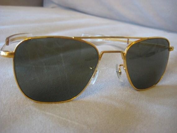 8aa6b533ba7 Randolph Engineering Aviator Sunglasses Blue Lenses