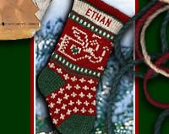 Embroidered Personalized Baby's First Christmas Stockings