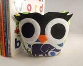 owl  bookend doorstop paperweight bellamina's owl bookend
