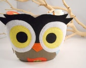 bellamina's owl bookend/doorstops amy butler designer fabric