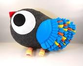 Handmade stuffed toy love bird pillow plush tweet love birdie pillow Christmas gift