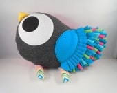 Handmade stuffed toy  tweet tweet love birdie pillow plush