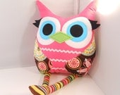 owl  Plush doll Toy Softie Stuffed Animal for Baby and Children Woodland