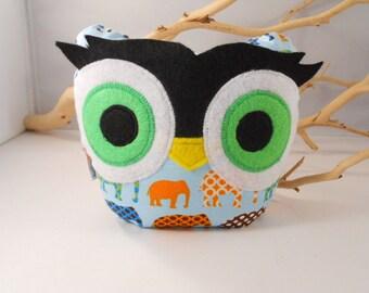 NEW - bellamina's owl bookend/ doorstop/ paperweight
