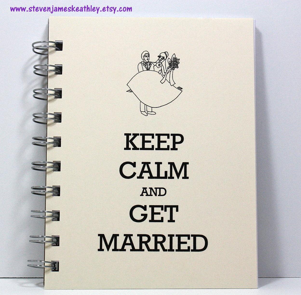 Wedding Planner Journal Notebook Guest Sign by stevenjameskeathley