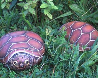 How to paint a tortoise on a rock - Rock painting pdf  tutorial