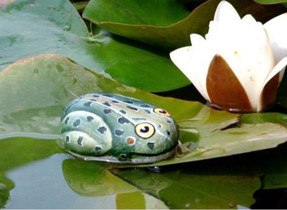 How to paint a leopard frog on a rock rock painting pdf - Painting rocks for garden what kind of paint ...