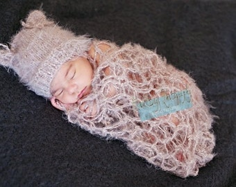 Newborn Posing Fabric - Newborn Stretch Wrap Set - Swaddle Blanket - Newborn Wrap - Newborn Posing Blanket - Newborn Poser - Basket Filler