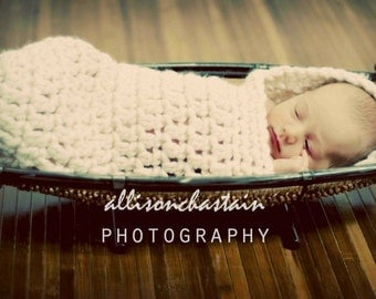 Newborn Cocoon Wrap - Baby Photo Prop - Baby cocoon - Newborn Sleep Sack - Baby Sleeping Nest - Cocoon - Newborn Photo Prop - Newborn Cocoon